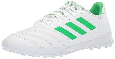 7783320c1 adidas Men's Copa 19.3 Turf Soccer Shoe, Solar Lime/White, ...