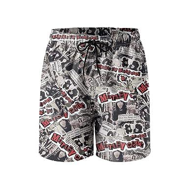 Mens Beach Shorts Fashion Music Swimsuit Trunks Jogging Outdoor Sport Beachwear