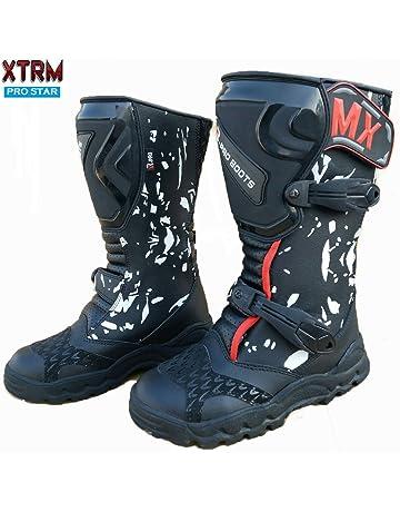400fea9c1699 Neuf Moto Enfants Bottes XTRM Pro Star MX Quad Enfants Enduro Hors Route  des Chaussures de