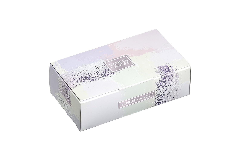 verschiedene Farben 12,6 x 22,3 x 6,9 cm Yankee Candle Geschenkset mit 3 Gl/äsern