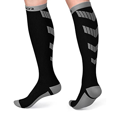 8dcb3b58199 Satinior Compression Socks (10-20mmHg) for Women and Men