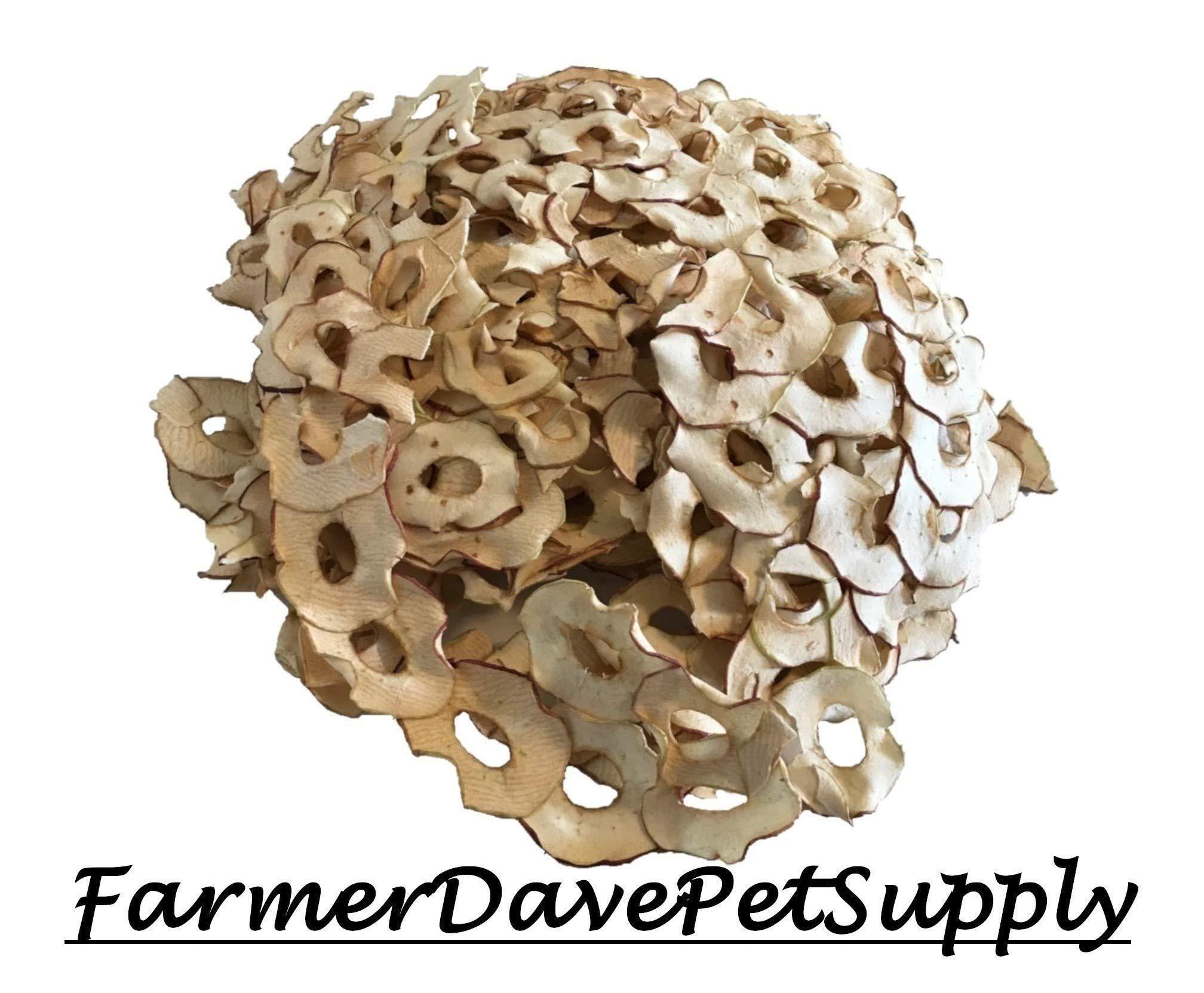 FarmerDavePetSupply Jumbo Size Apple Slice Treats for Pets by FarmerDavePetSupply