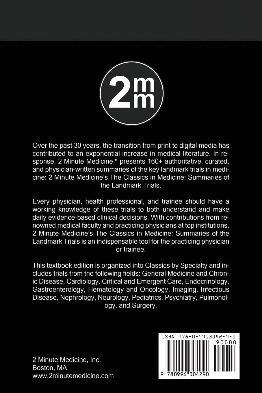 2 Minute Medicine's The Classics in Medicine: Summaries of