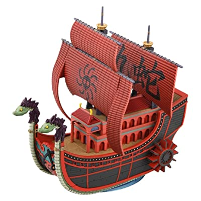 Bandai Hobby Grand Ship Collection One Piece 06 Kuja Pirates Ship: Toys & Games [5Bkhe0200376]
