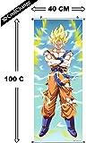 CoolChange Kakemono/Poster de Dragon Ball, Motif: Super- Saiyajin