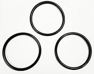 Cornelius Keg Gasket Beer Soda Lid Seal Replacement O-Ring Corny Keg Set of 3 EPDM