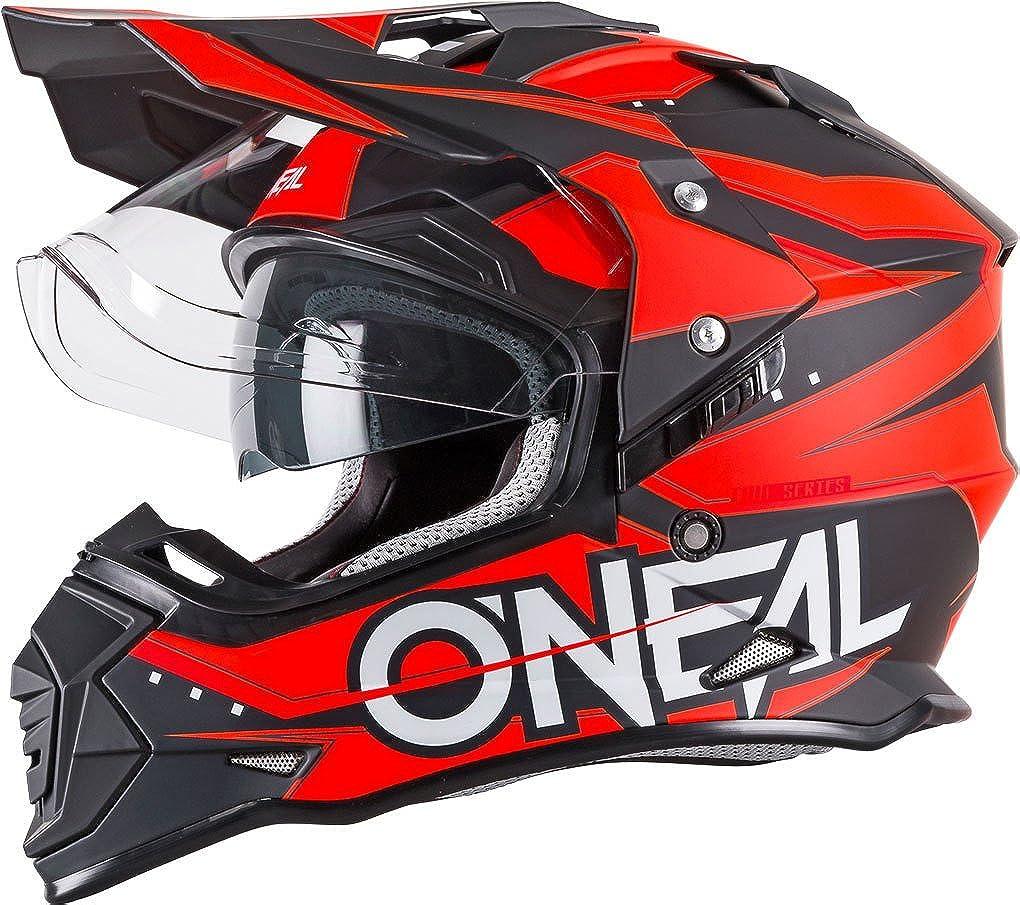 O Neal Sierra Ii Slingshot Helmet Orange Motorcycle Mx Motocross Off Road Dual Sport Motorcycle 0817 20 Bekleidung