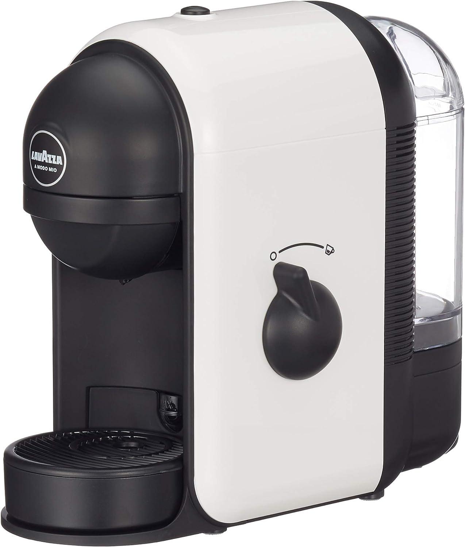 Lavazza A Modo Mio - Cafetera de cápsulas, 1250 W, color blanco: Amazon.es: Hogar