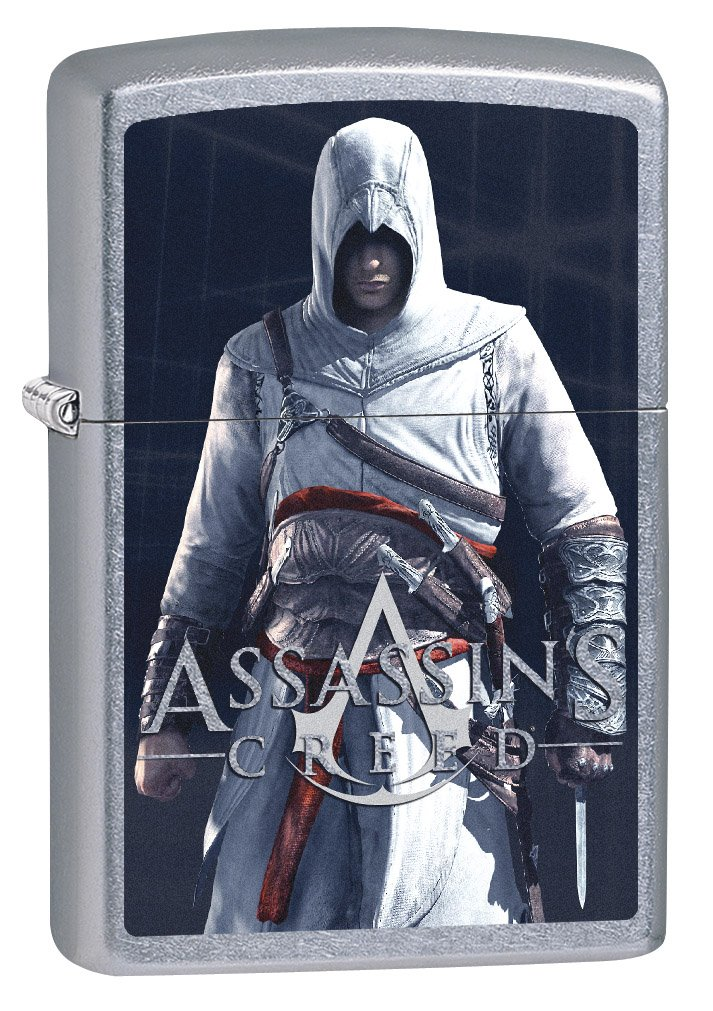 Zippo Lighter Assassins Creed Altair Ibn La Ahad Street Chrome