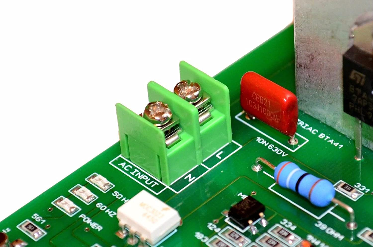Voltage About 630v Be Careful Direction Contact With Into Circuit