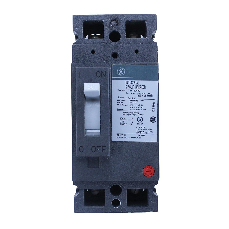 TEB122050WL - GE Circuit Breakers - Thermal Circuit Breakers ...