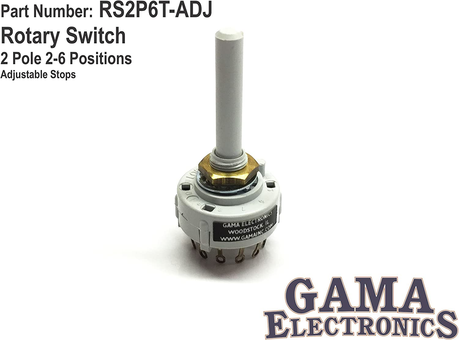 2 Pole 6 Position Switch