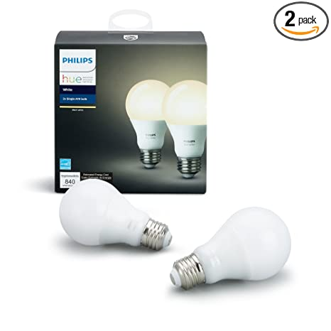 Amazon.com: Philips Hue Luz Blanca de Alexa, 465443, 10 ...