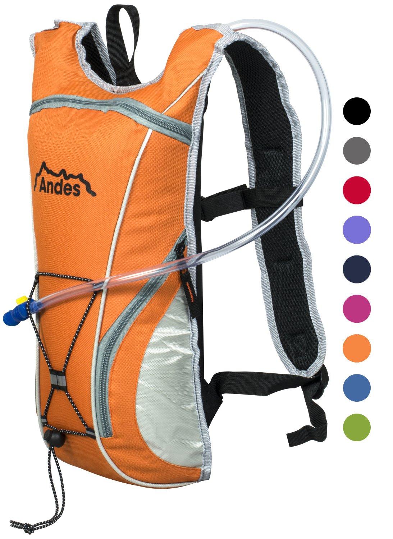 poche à eau de 2 L Andes Sac à dos avec poche à eau pour cyclisme