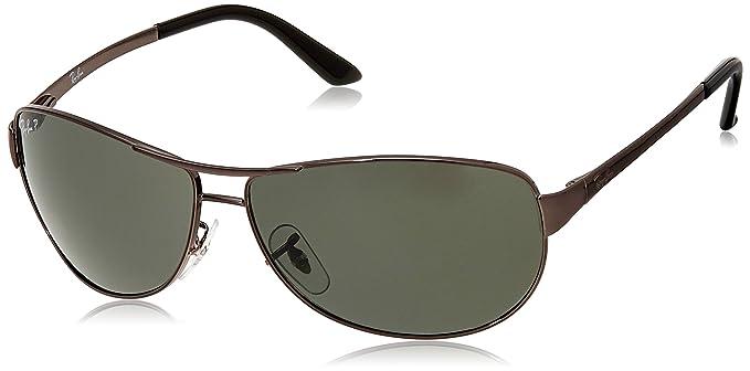 25802b426e Ray-Ban Aviator Sunglasses (Black)(0RB3342I004 5860)  Amazon.in ...