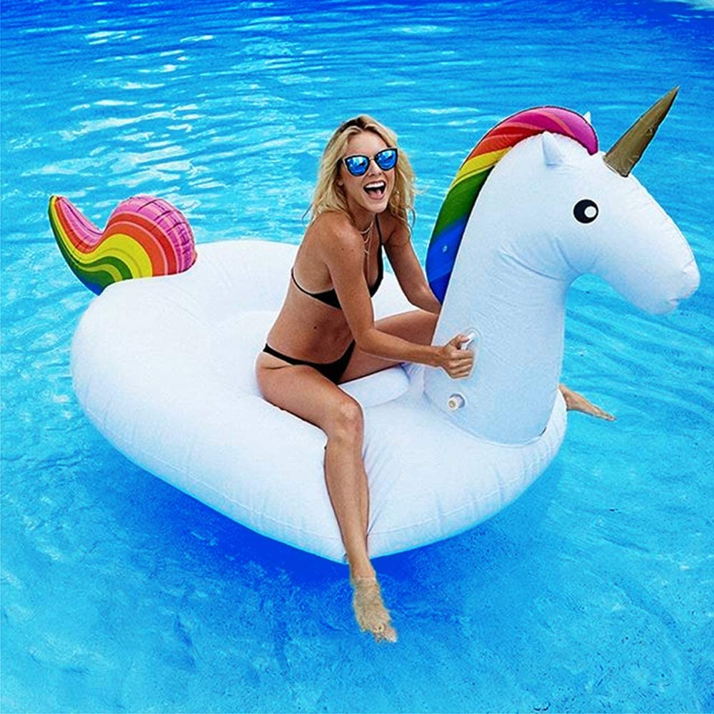 Dracarys Juguete Hinchable Flotante Gigante del Unicornio Piscina ...