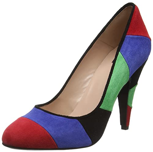 Womens Scarpad.lina100 Cam.Multicolore Closed-Toe Pumps Moschino zYdbHbw6m