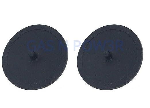 Discos de goma para máquina de café (49 mm) negro: Amazon.es: Hogar