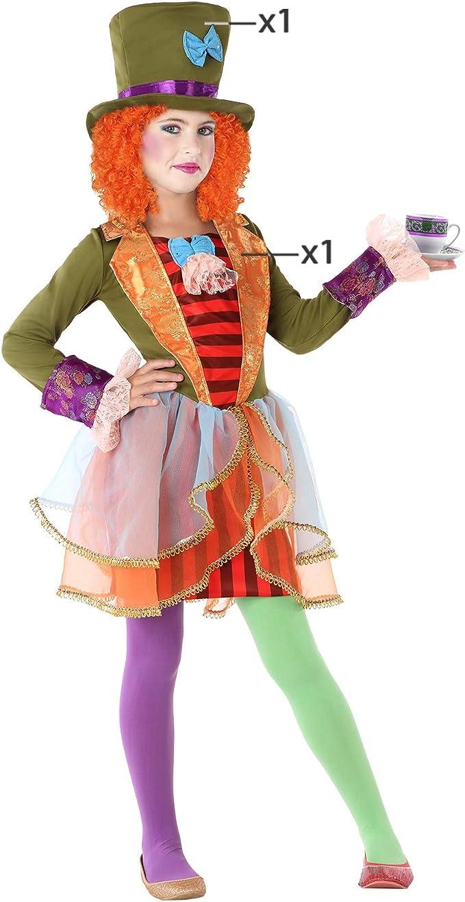 Atosa-61297 Atosa-61297-Disfraz Sombrerera Loca-Infantil Niña, Multicolor, 7 a 9 años (61297: Amazon.es: Juguetes y juegos