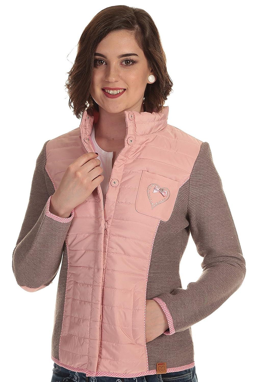 Spieth & Wensky Trachtenstrickjacke Damen modiche Strickjacke Tracht mit Stehkragen Jacke Tracht