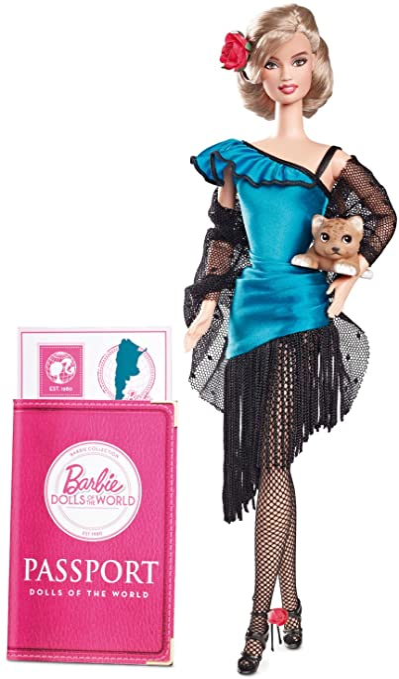 Amazon.es: Barbie - Muñecas del Mundo: Argentina (Mattel W3375 ...