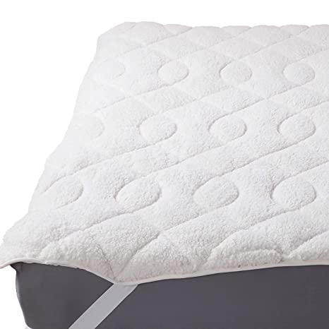 Amazon Com Bedsure Sherpa Mattress Topper Twin Xl Twin Extra Long
