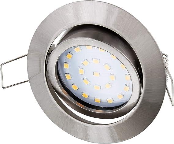 Prezzo Plafoniere Led Incasso : Faretto da incasso ultra piatto a led in acciaio inox 230 v ferro