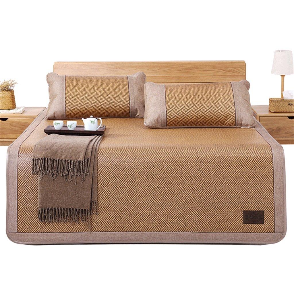 Coole Matratze Rattan Mat Sommer Schlaf Matte Faltbare Matte Duett (Ohne Kissenbezüge) Single Schlafsaal Matten (für 4ft, 4,5ft, 5ft Bed) Coole Bambusmatte (größe : 0.9M Bed)