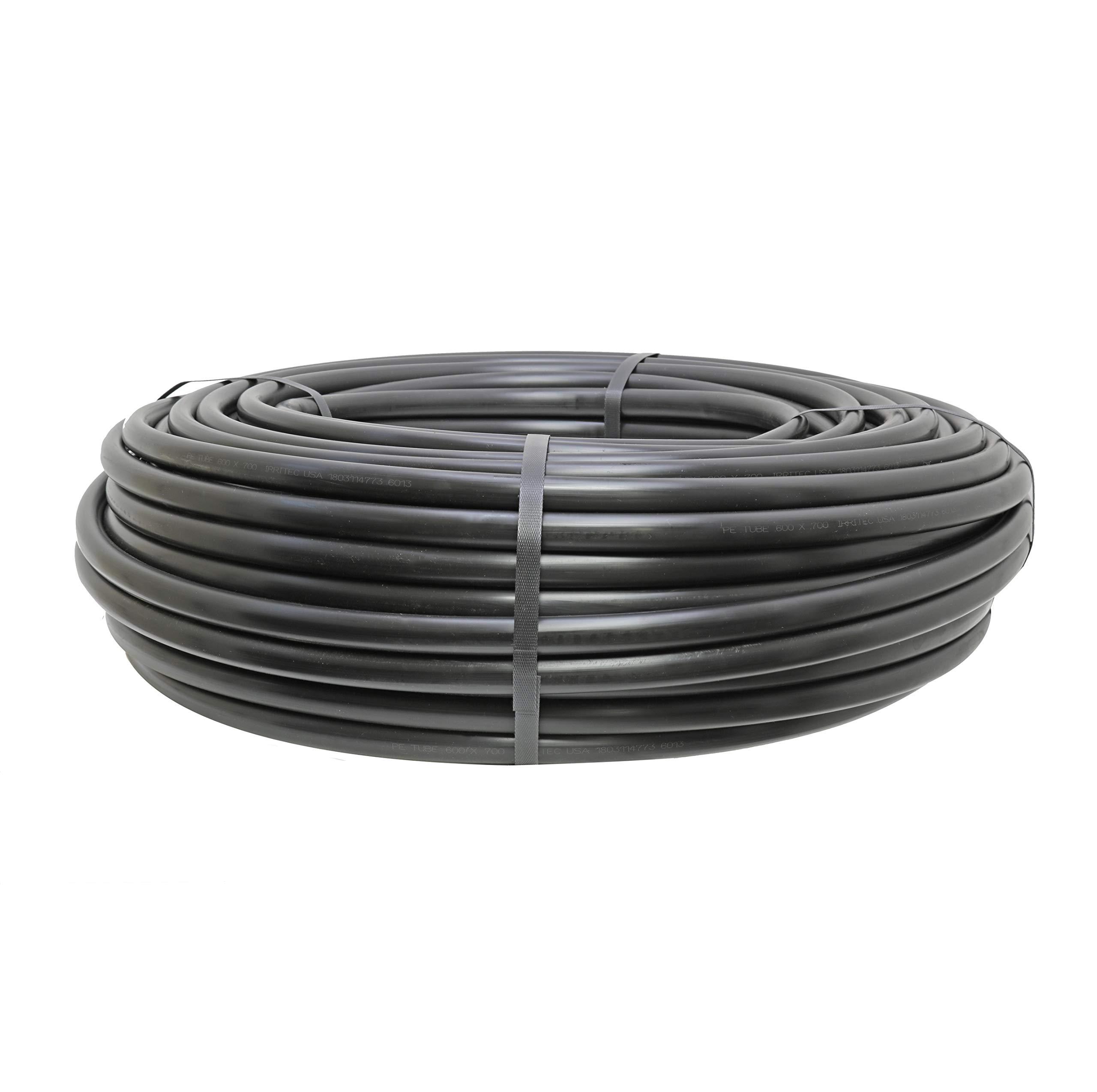 """.600/"""" ID x .700/"""" OD 1//2/"""" Polyethylene Drip Irrigation Tubing 500/'"""