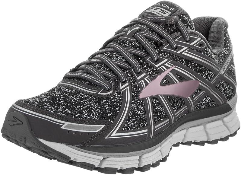 53f04441c4 Adrenaline GTS 17 Women's Running Shoes. Brooks Women's Adrenaline GTS 17  Metallic Charcoal/Black/Rose Gold 6.5 ...
