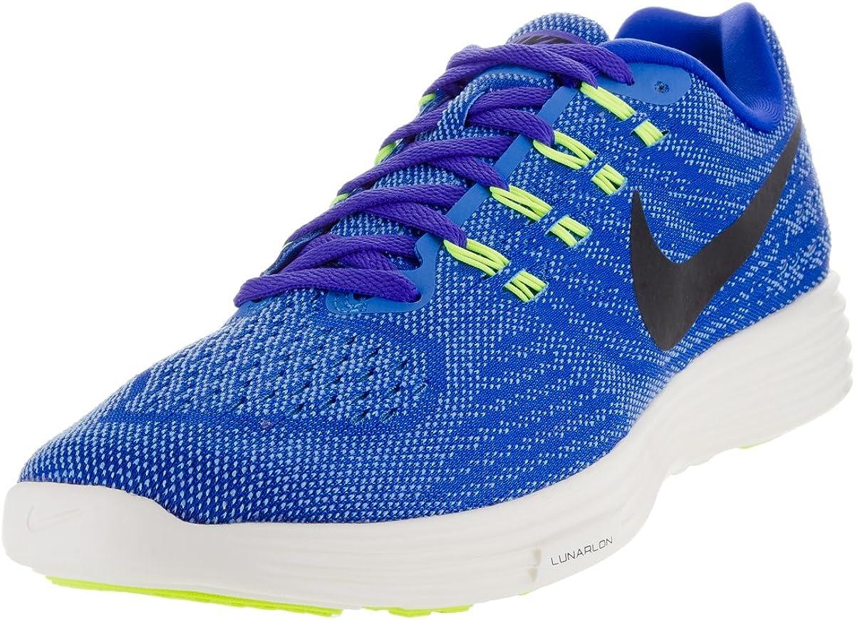 Sensación champú Sistemáticamente  Amazon.com | Nike Mens Lunartempo 2 Racer Blue/Black/Lt Pht Bl/Vlt Running  Shoe 12 Men US | Road Running
