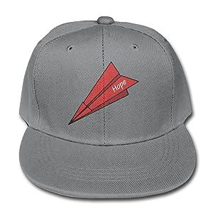 Cartoon Hope Paper Plane Suitable Ash Children Children Pure Baseball Cap