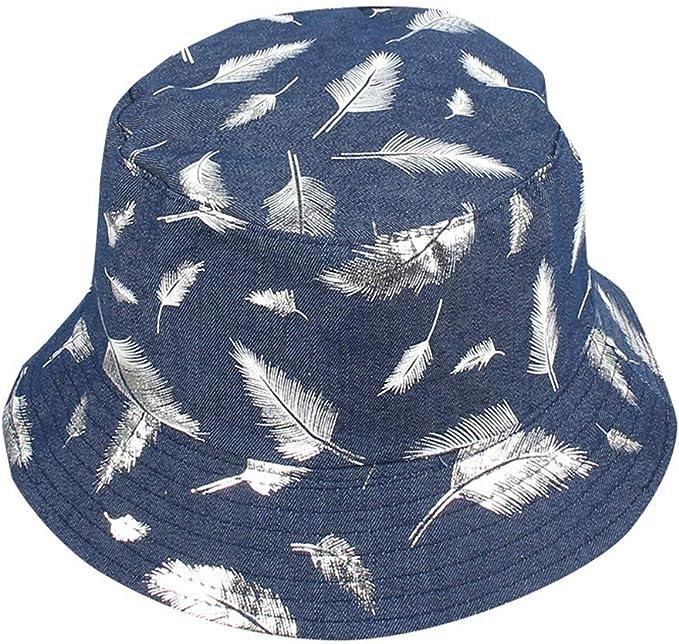 Yvelands Unisex Adulto de Doble Cara Desgaste Sombrero Pescador ...