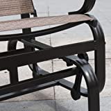 PatioPost Sling Glider Outdoor Patio Chair