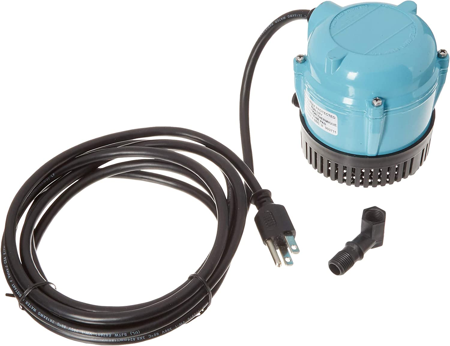 Little Giant 1-at 170 GPH Small Submersible-10' Cord (500286)