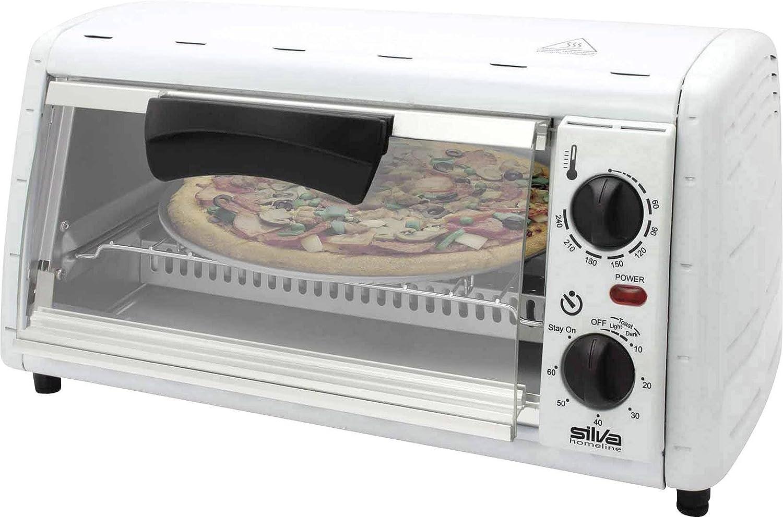 Silva Homeline MB 1200P miniback de/Horno de pizza, 12L Back años, 1200W Silva-Homeline
