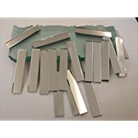 RUIXUAN - Espejos rectangulares de cristal pequeño, tamaño