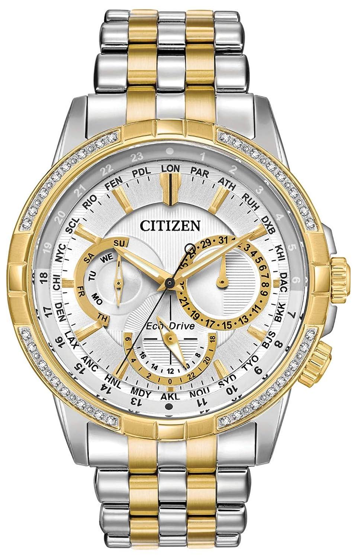 CitizenEco-DriveCalendrierWorldTimeMensWatch