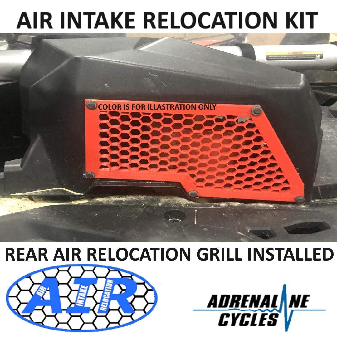 Maverick X3 Air Intake Relocation kit Cab Noise reduction kit Reduce the clutch sound AC-X3-AIR