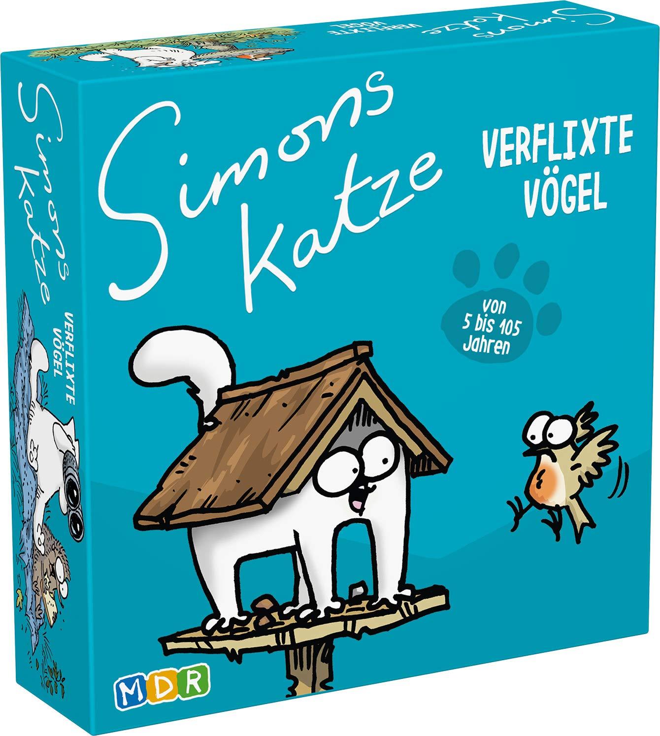 Simons Cat - Verflixte Vogel Kartenspiele