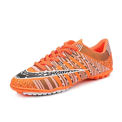 2c30302ef Kids Athletic Lace Up Outdoor Indoor Light Weight Running Soccer Shoes( Toddler Little