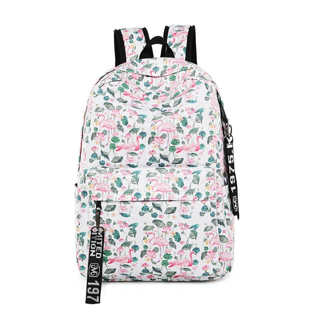 Amazon.com | Waterproof Flamingo Print Unicorn Computer Rucksack | Backpacks