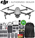 """DJI Mavic 2 Pro Drone Quadcopter with Hasselblad Camera Adjustable Aperture 20MP 1"""" CMOS Sensor and SanDisk Extreme 128GB MicroSDXC UHS-I Card (with Fly More Combo Kit)"""