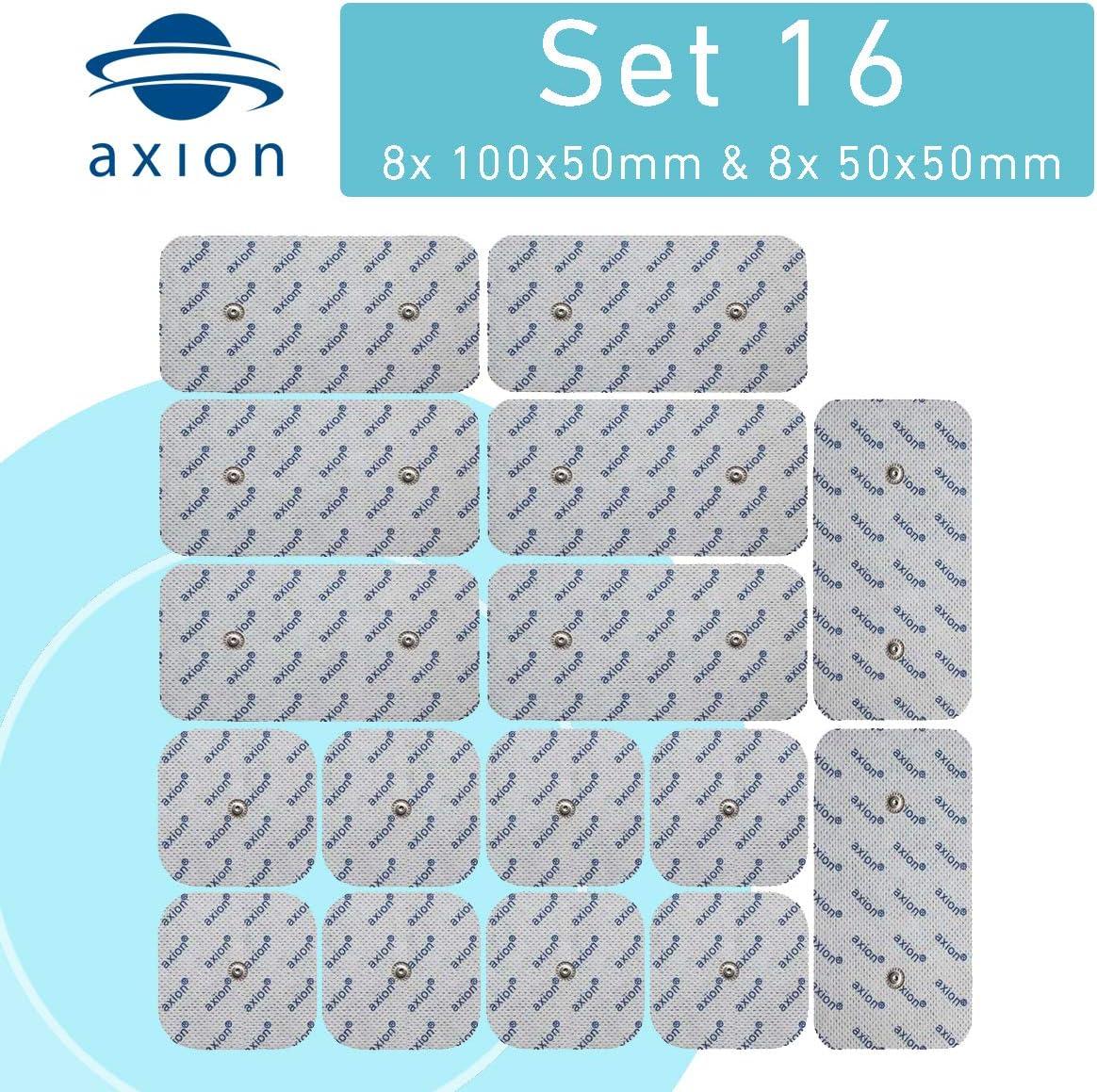 axion set de electrodos - 16 parches para tens ems - compatibles con COMPEX