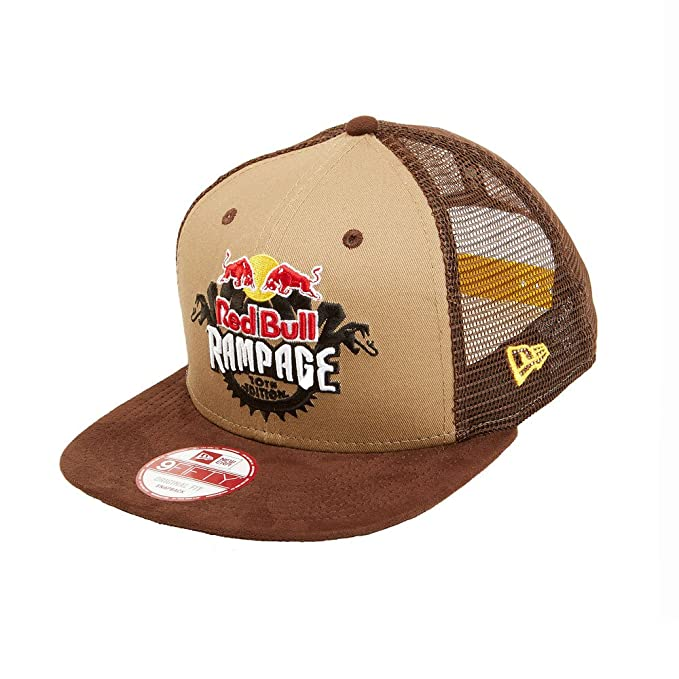 817c70bcd8b90 Red Bull Rampage New Era Gorro de Trucker  Amazon.es  Ropa y accesorios