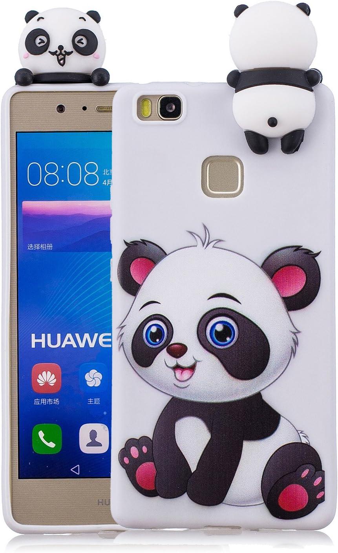 Cover per Huawei P9 Lite Custodia, Keteen Elegante 3D Carino Animale TPU Silicone Bumper Flessibile Morbido Anti Graffio Protettiva Case Slim anti ...