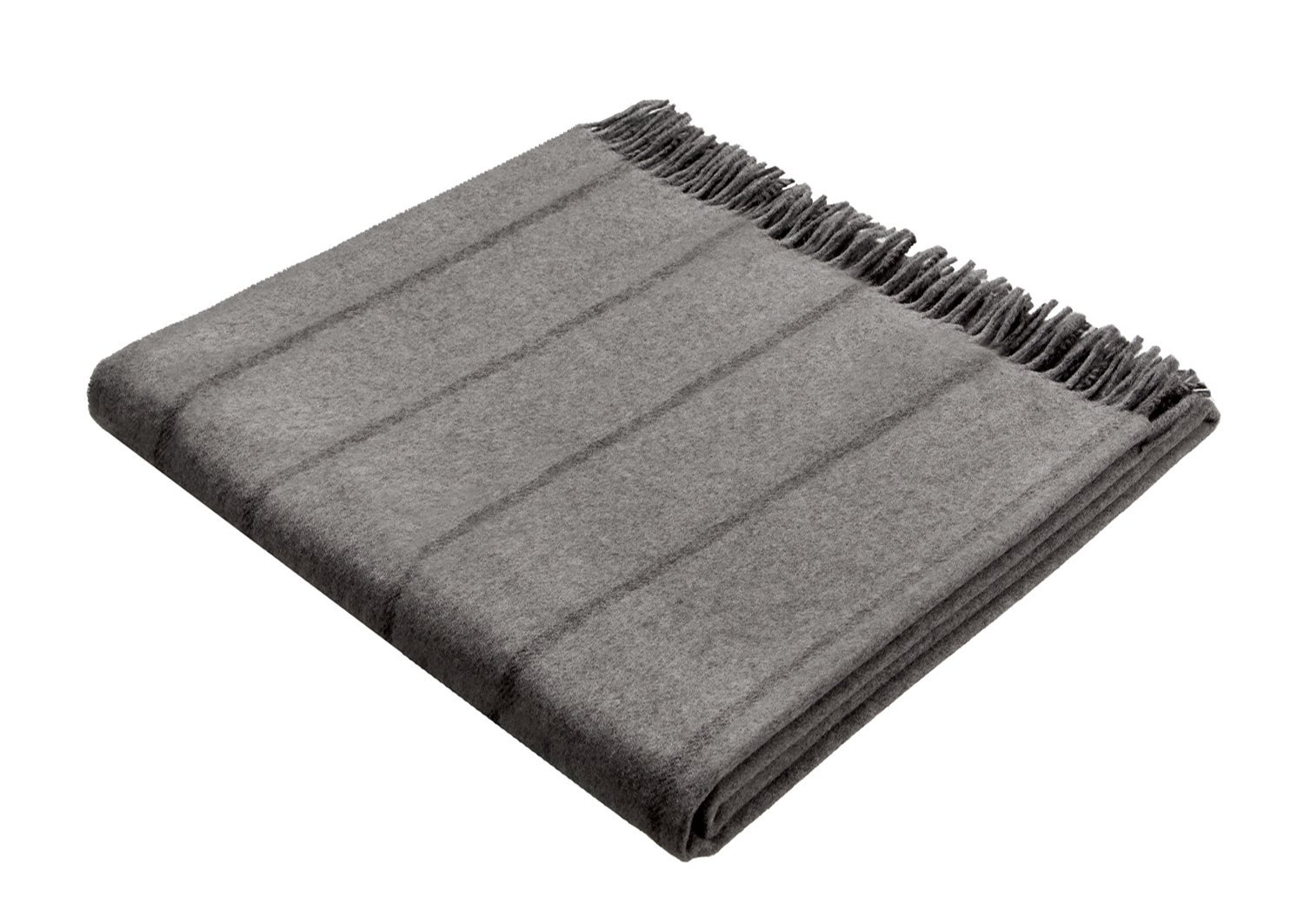 Bocasa 130 x 170 cm Biederlack Cashmere-Plaid Blanket Throw, Berry-Aubergine 648105 648105_1000415-130x170