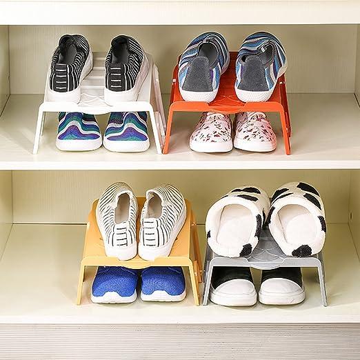 Attractive LEORX Porta Scarpe Scarpiera Risparmio Di Spazio Antiscivolo Scarpe Shelf  Storage Rack Organizzatore Scarpa Spazio Saver: Amazon.it: Fai Da Te