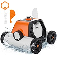 Deals on Robotic Cordless Automatic Pool Cleaner Dual-Motors