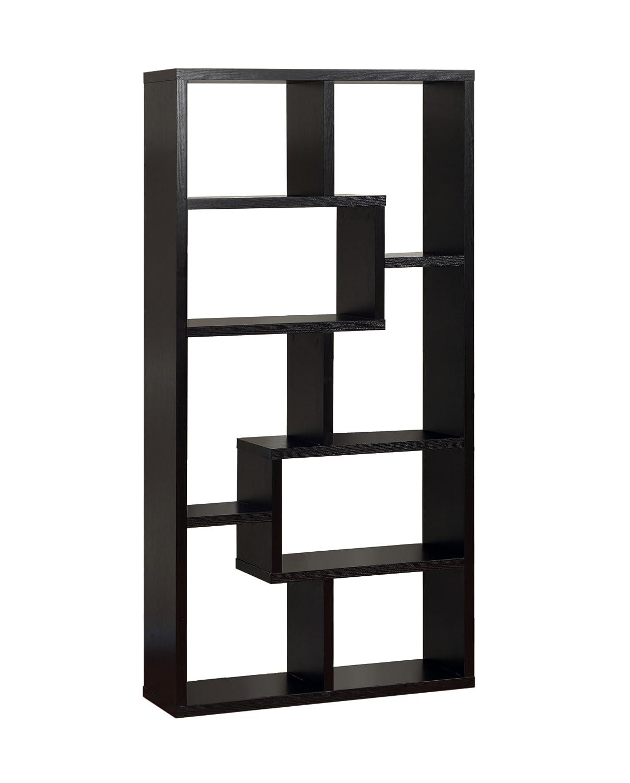furniture bookshelf office backless shelves alida amart bookcase ladder corner bookcases